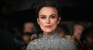 Keira Knightley at the London premiere of Colette last October. Photograph:  Mike Marsland/WireImage