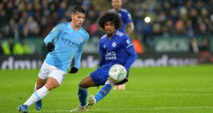 Brahim Diaz is set to leave Manchester City to join Real Madrid. Photo: Plumb Images/Leicester City FC via Getty Images