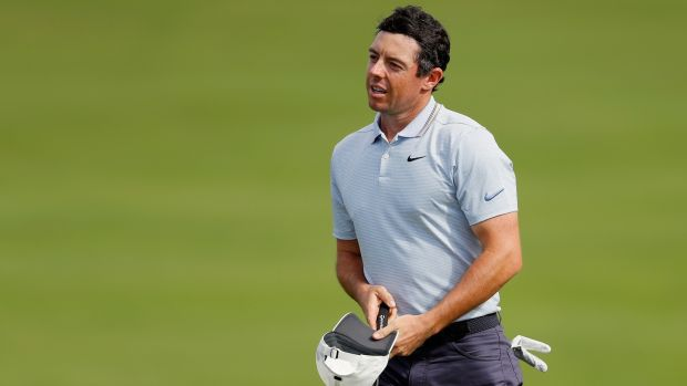 Rory McIlroy shot a third round 68 in Hawaii. Photograph: Kevin C Cox/Getty