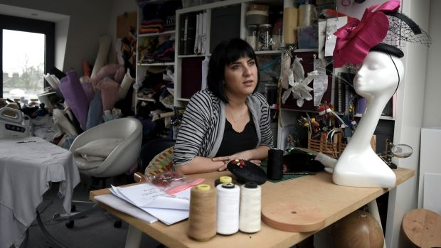 Merve Bayindir, a hat designer who has left Istanbul: an exodus threatens to reorder society and set Turkey back decades. Photograph: Mary Turner/New York Times