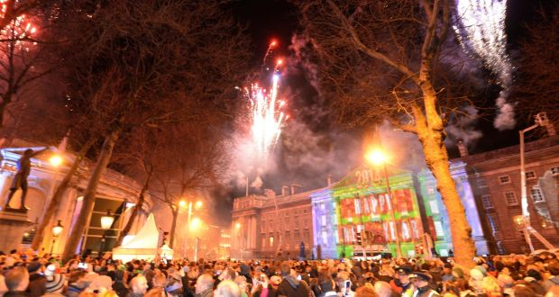 New Year's Eve in Dublin. Colleagues in the FT office on New Year's Day this year were competing not about how late they stayed out the night before but about who managed to get to bed before 10pm. File photograph: Dara Mac Dónaill