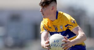 Gavin Cooney scored four points as Clare beat Waterford to reach the McGrath Cup final. Photograph: Laszlo Geczo/Inpho
