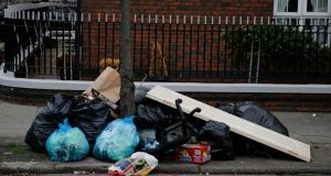 Oriel Street in Dublin's north inner city is among the areas identified as litter black spots by Irish Business Against Litter. Photograph: Nick Bradshaw