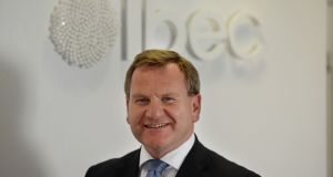 Ibec chief executive Danny McCoy, who has warned of slowing growth in the Irish economy this year due to competitiveness constraints and Brexit uncertainties. Photograph: Alan Betson / The Irish Times