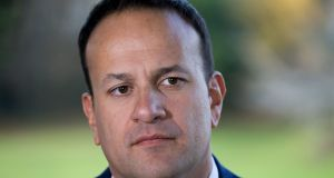 Taoiseach Leo Varadkar has praised British prime minister Theresa May's latest comments on the Irish Border. File photograph: Tom Honan/PA Wire
