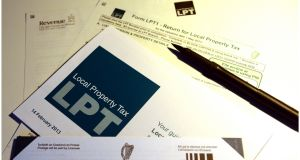 Property tax brought in €482 million last year. Photograph: Bryan O'Brien / THE IRISH TIMES