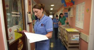 The Irish Nurses and Midwives Organisation (INMO) said  there were 392 patients in need of admission  waiting in emergency departments and 149 in wards on Monday. File image: Bryan O'Brien