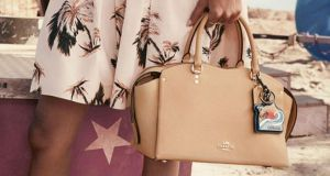 Coach: The Drew satchel in Stuart Vevers's new ad campaign for the New York bagmakers