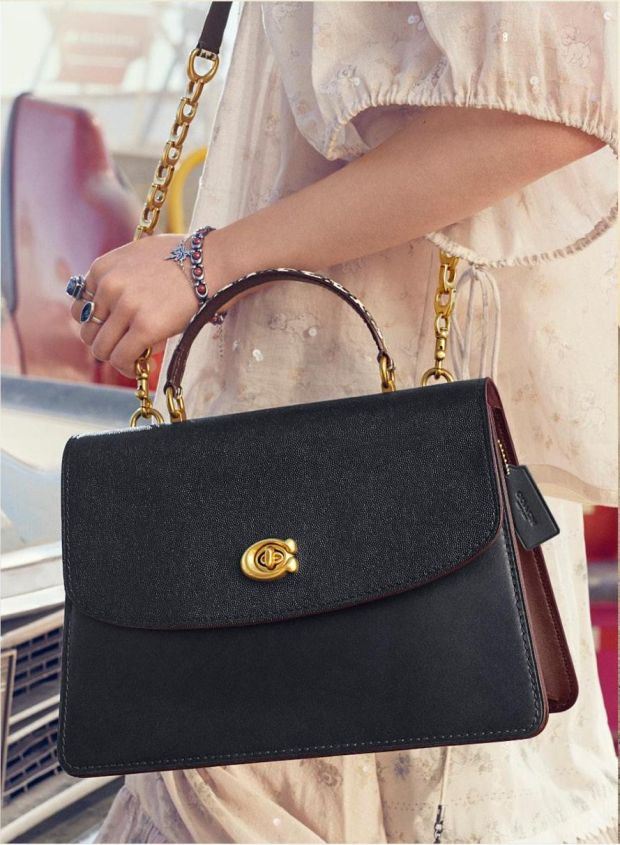 The Parker top handle bag from Coach's new spring summer collection