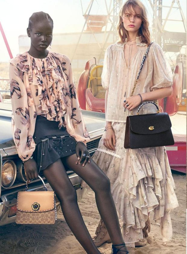 The Parker Top Handle and the Signature Patchwork dreamer bags from Coach's new spring summer collection