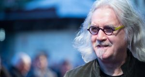 Billy Connolly: by talking so frankly about his disease, he helps to lift the veil shrouding  Parkinson's. Photograph:  Ben Pruchnie/Getty Images