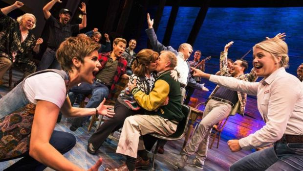 """Final straw"": the Abbey's seven-week Christmas production, Come from Away, is the European premiere of a Broadway musical that transfers to London's West End later this month"