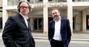 """Deep concern and dissatisfaction"": the Abbey Theatre's directors, Graham McLaren and Neil Murray. Photograph: Cyril Byrne"