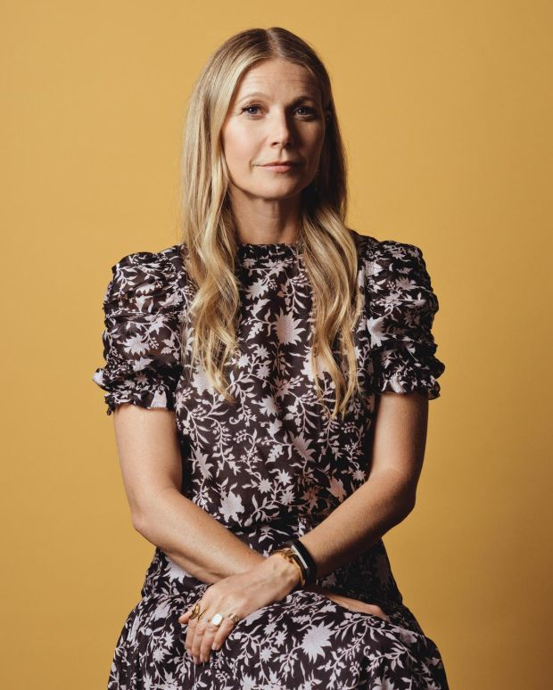 Gwyneth Paltrow: Actor and Goop founder. Photograph: Ryan Pfluger/The New York Times