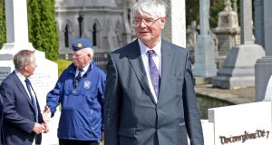 Historian and former government minister Dr Martin Mansergh will unveil a new information board about the Soloheadbeg ambush later this month. Photograph: Eric Luke/The Irish Times