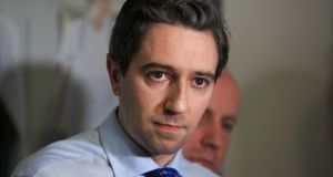 Minister for Health Simon Harris: his decision to introduce terminations of pregnancy on January 1st has all the hallmarks of an exercise in political box-ticking. Photograph: Gareth Chaney Collins