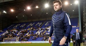 "Mauricio Pochettino: ""We're doing a fantastic job but if we want to be real contenders, we need to operate in a different way in the future."" Photograph: Carl Recine/Reuters"