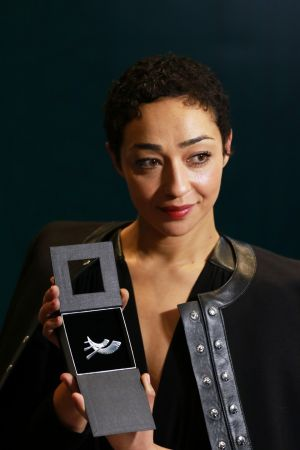 CULTURAL AMBASSADOR: Ethiopian-Irish actor Ruth Negga at the official announcement by Minister for Culture Joespha Madigan of five new cultural ambassadors under the Government's Global Ireland 2025 programme.   Photograph: Nick Bradshaw/The Irish Times