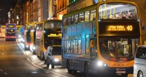 BusConnects fare: The National Transport Authority (NTA) has said while the fare hasn't been finalised it will be somewhere between the two most common Dublin bus fares, which are €2.25 and €2.50. File photograph: Getty Images