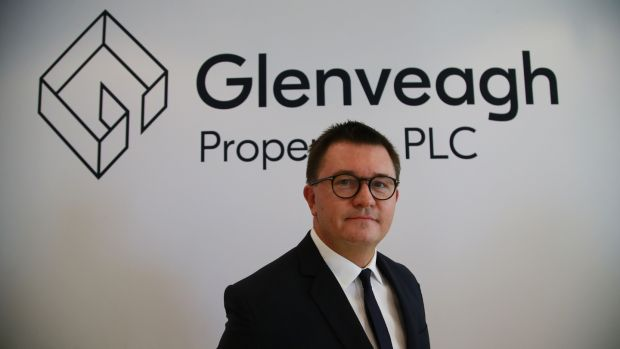 Glenveagh Properties chief executive Justin Bickle. The company is ramping up its building activity this year. Photogaph: Nick Bradshaw for The Irish Times
