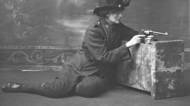 Countess Constance Markievicz courtesy of National Library for Women's Suffrage supplement