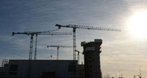 Employment in the construction sector rose 13.9 per cent in the third quarter