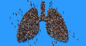 January is Lung Cancer Awareness Month and the Irish Cancer Society has said recent research   has shown lung cancer incidence could double by 2045. Photograph: iStock
