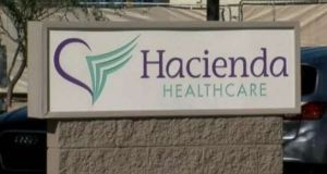 The pregnant woman, who was incapacitated in a drowning incident, was a patient at a Hacienda Healthcare facility in Phoenix