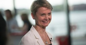 Labour Party MP Yvette Cooper was one of the leading backers of the amendment to the finance Bill. File photograph: Oli Scarff/AFP/Getty Images