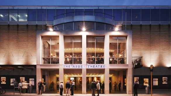 The Abbey Theatre Photograph: Ros Kavanagh