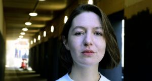 Sally Rooney: Waterstones' staff named Normal People as their favourite book to recommend last year. Photograph: Cyril Byrne