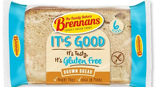 Brennans gluten-free bread: to create a flour mix, it uses rice flour, tapioca starch, maize starch, potato starch, rice bran, hulled millet and wholegrain maize flour