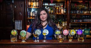 Seáneen Sullivan  in L Mulligan Grocer's bar in Stoneybatter, Dublin which she co-owns. Photograph: James Forde for the Irish Times
