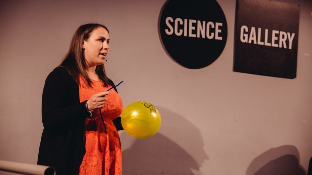 Maureen Williams is doing her viva for her parasitology PhD later this month, and will be using some of the skills she learned from Famelab