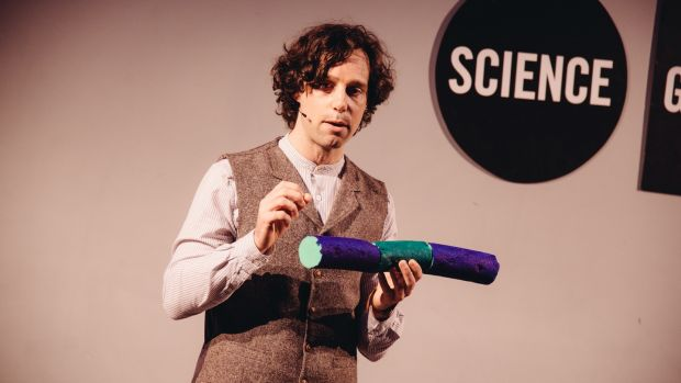 Eoin Murphy, who was a finalist last year, says Famelab has opened doors for him in terms of his career