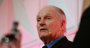 Former M*A*S*H* star Alan Alda was the guest speaker at the recent SciCom conference in Dublin. The actor  now leads a science communication programme at Stonybrook University.  Photograph: Nick Bradshaw