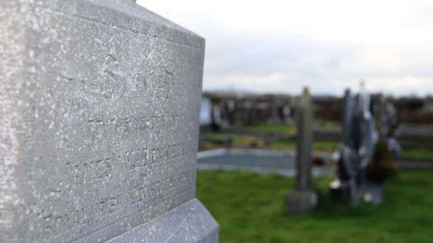 The faded headstone to Constable James McDonnell who was killed during the Soloheadbeg ambush states that he died in the line of duty. Photograph: Ronan McGreevy