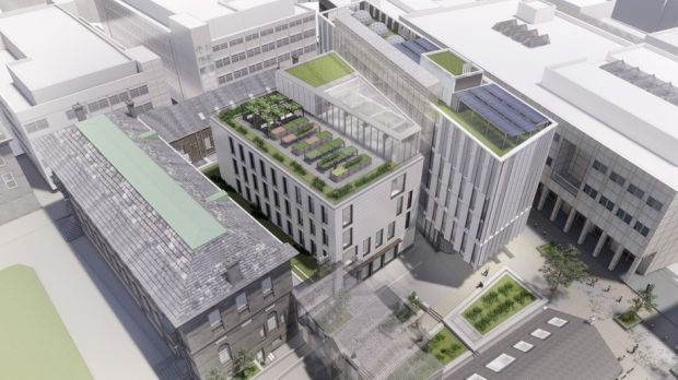 Artist's impression of E3 Learning Foundry at Trinity College Dublin. Photograph: TCD