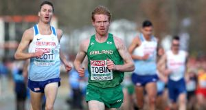 Sean Tobin: the Irish athlete is taking part this year in the annual Falls Creek altitude training camp, set in the mountains about a five-hour drive northeast of Melbourne.  Photograph: Bryan Keane/Inpho