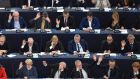 Members of the European Parliament: it is a genuine co-legislator in many areas of EU policy and budgeting.  Photograph: Frederick Florin/AFP