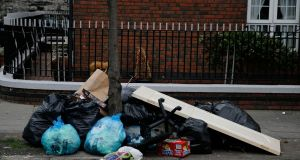 Disadvantaged areas are most likely to be affected by the litter problem, and they require particular and on-going encouragement and attention from council officials. Photograph: Nick Bradshaw