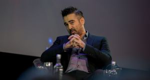 Colin Farrell  during the Pendulum Summit  at  Dublin's Convention Centre. Photograph: Gareth Chaney/Collins