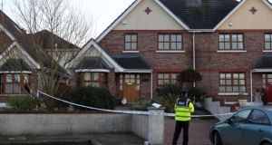 Gardaí continue to preserve the scene on January 9th, at Clonmore Estate, Ardee, Co Louth where Elizabeth Piotrowska was killed Photograph: Colin Keegan/Collins