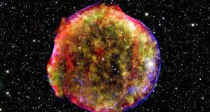 Supernova remnants, one of the suggested sources for 13 FRBs discovered by a Canadian-led team. File photograph: Nasa via The New York Times