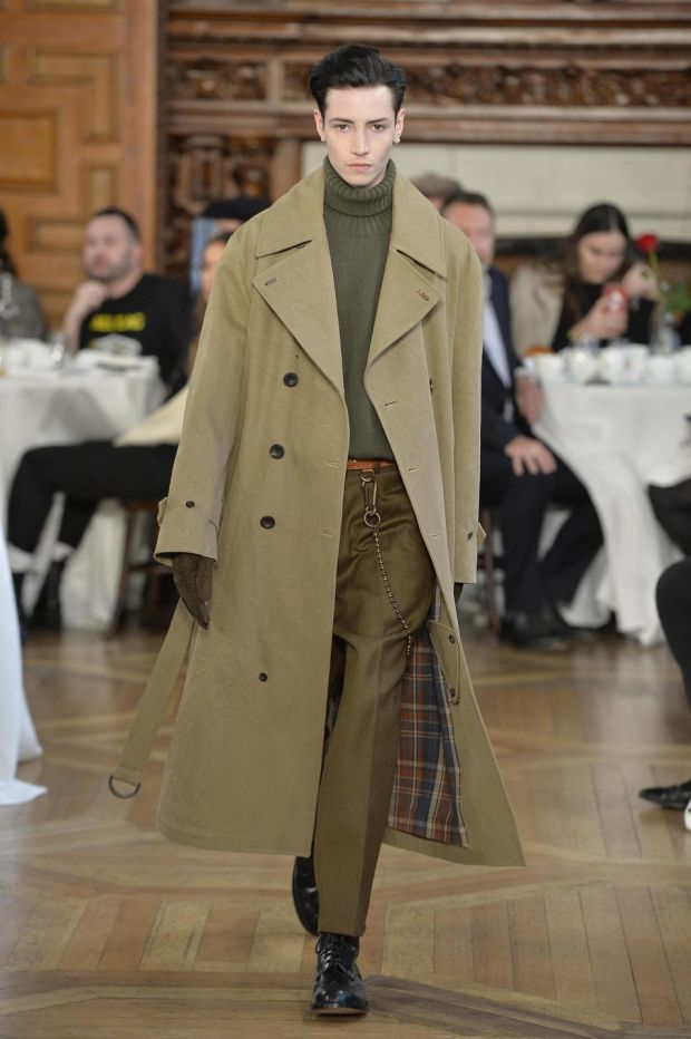 The modern greatcoat by Daniel Kearns for Kent & Curwen a/w 2019