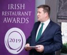 Adrian Cummins, chief executive of the Restaurants Association of Ireland, launching the 2019 restaurant of the year awards.