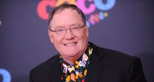 John Lasseter: the animator is joining Skydance, which David Ellison started with money inherited from his father, the Oracle billionaire Larry Ellison. Photograph: Jason LaVeris/FilmMagic/Getty