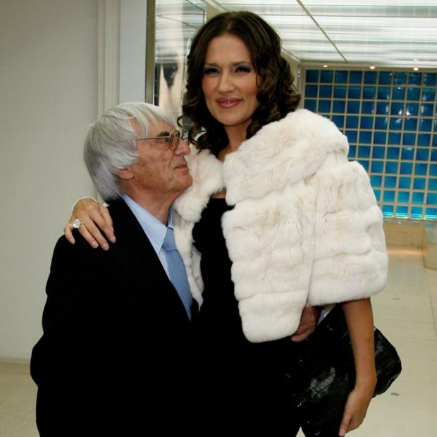 Expensive divorce: Bernie Ecclestone with his wife, Slavica, in 2008. Photograph: Dave M Benett/Getty