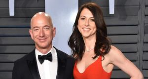 Bezos divorce: the couple have an estimated fortune of almost €120 billion. Photograph: John Shearer/Getty