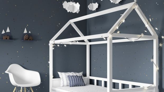 This sculptural child's bed costs about €283 from Buy it Direct.